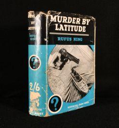 1936 Murder By Latitude
