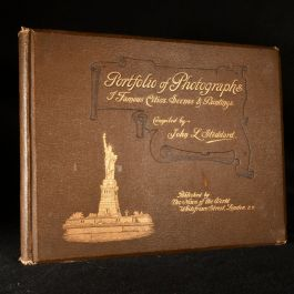 c1895 Portfolio of Photographs of Famous Scenes, Cities and Paintings