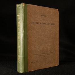 1902 Papers of the British School at Rome Volume I