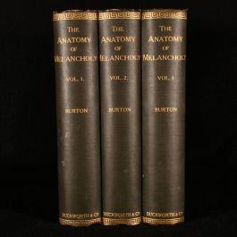 1905 The Anatomy of Melancholy