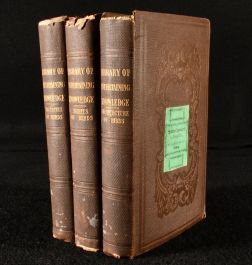 1831 3vol The Architecture of Birds. The Habits of Birds. The Faculties of Birds.