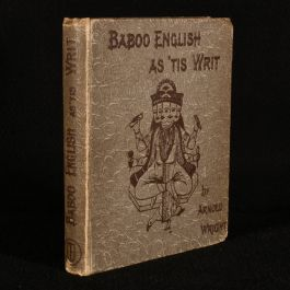1891 Baboo English as 'Tis Writ