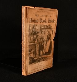 1854 The American Home Cook Book