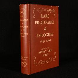 1940 Rare Prologues and Epilogues 1642-1700