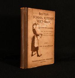 1891 Boston School Kitchen Text-Book