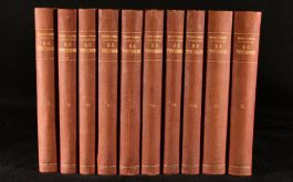 1911 10vol The Complete Collected Works of I. S. Turgenev