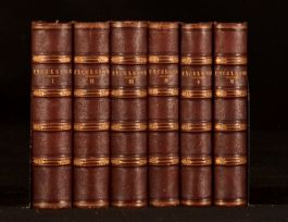 1854 -1856 6vol Excelsior Religion Science Literature Geology Illustrated