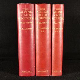 1923-28 The Alpine Club Register