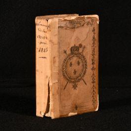1815 Petit Almanach de la Cour de France