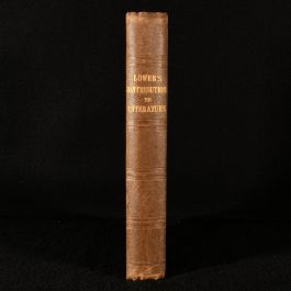 1854 Contributions to Literature Historial, Antiquarian and Metrical