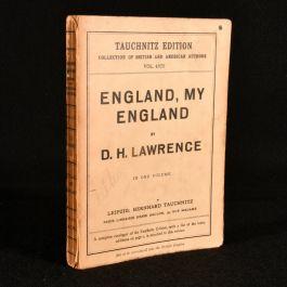 1928 England, My England