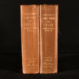 1855 A Handbook for Travellers in Spain