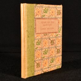 1911 Ode on the Morning of Christ's Nativity & A Hymn of the Nativity
