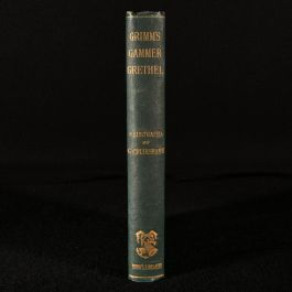 1897 German Popular Stories and Fairy Tales