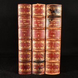 1839-41 The Arabian Nights' Entertainments