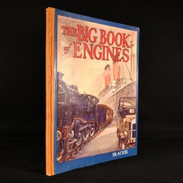1927 A Big Book of Engines (Trains, Steamers and Motor-Cars)