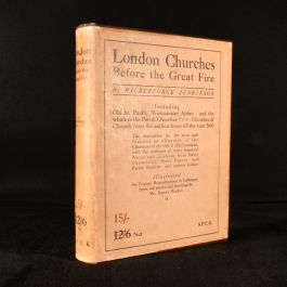 1917 London Churches Before the Great Fire