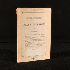 1902 Index of Streets and Plans of London