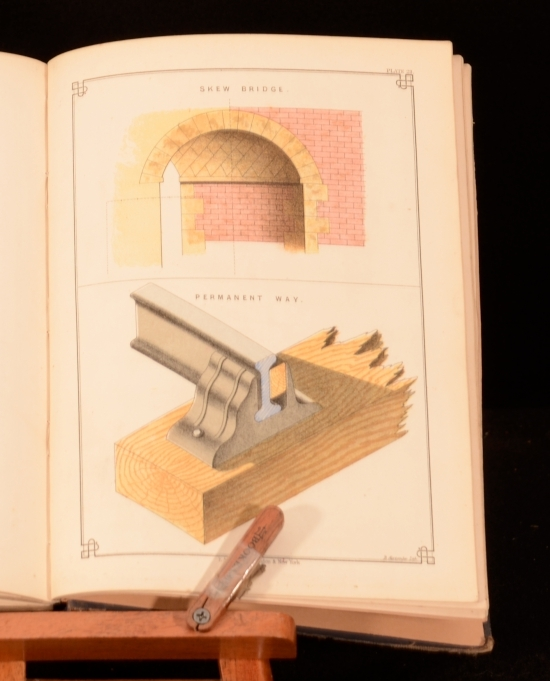 1891 First Edition Draughtsmans Handbook Colour
