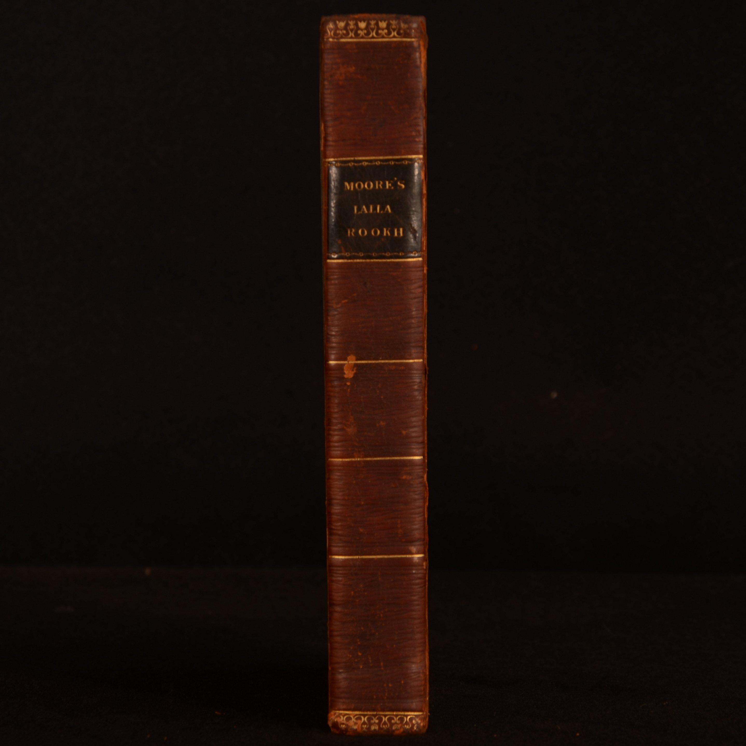 1817 Lalla Rookh An Oriental Romance Thomas Moore Third