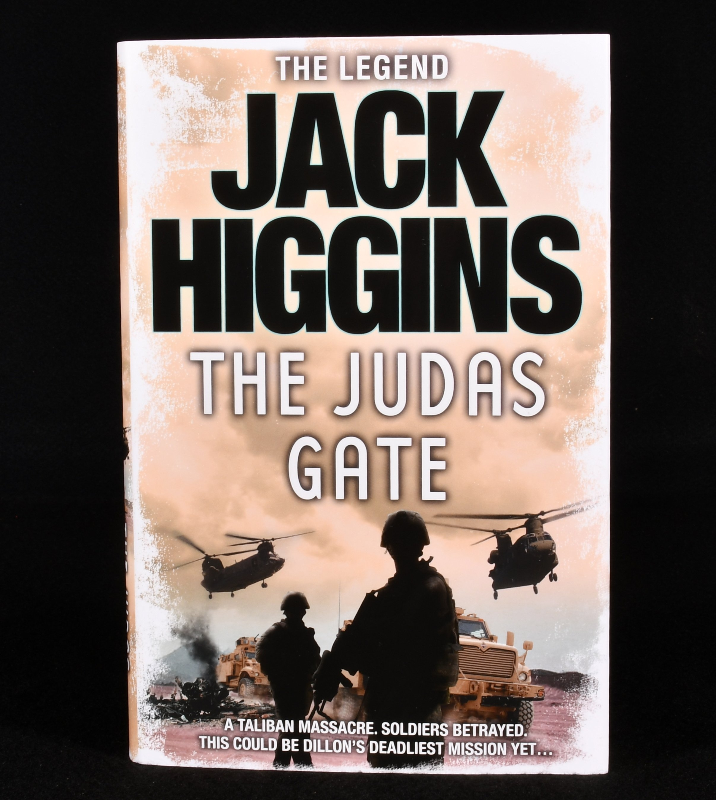 2010 The Judas Gate Jack Higgins First Edition Signed